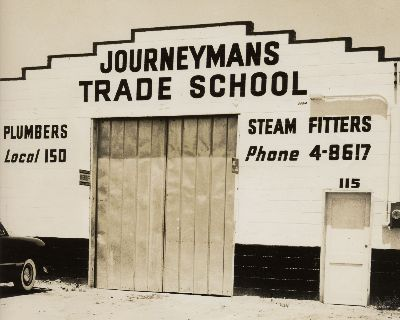 1949 Journeymans School, Sand Bar Ferry Rd. Check out that phone number!!